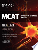 Kaplan MCAT Behavioral Sciences Review
