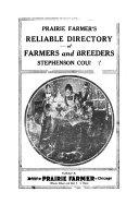 Prairie Farmer s Directory of Stephenson County  Illinois