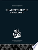 Shakespeare the Dramatist