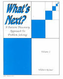 What's Next? Volume 2