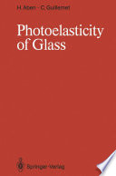 Photoelasticity of Glass