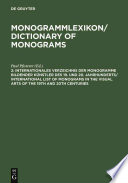Dictionary of monograms 2