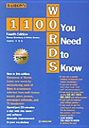 1100 Words You Need to Know  Fourth Edition