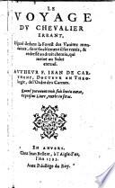 Le Voyage Du Chevalier Errant (etc.)