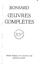Oeuvres Complètes, tome 1  et 2