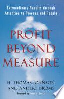 Profit Beyond Measure Book PDF