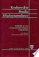 Krakowskie Studia Mi  dzynarodowe 2008 1