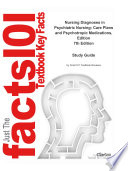 Nursing Diagnoses in Psychiatric Nursing  Care Plans and Psychotropic Medications  Edition