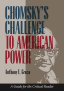 Chomsky s Challenge to American Power