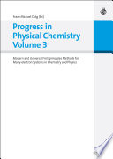 Progress in Physical Chemistry Volume 3