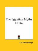 The Egyptian Myths of Ra