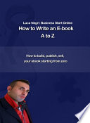How to Write an E Book A to Z