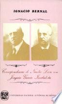 Correspondencia de Nicolás León con Joaquín García Icazbalceta