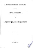 Official Register of Legally Qualified Physicians