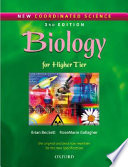 Biology   for higher tier  Per il Liceo linguistico