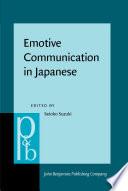 Emotive Communication in Japanese