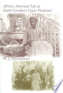 African American Life In South Carolina S Upper Piedmont 1780 1900