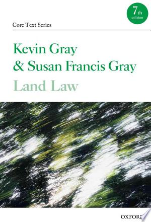 Land Law - ISBN:9780199603794
