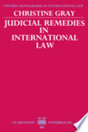 Judicial Remedies in International Law