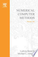 Numerical Computer Methods