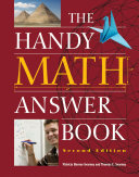 download ebook the handy math answer book pdf epub