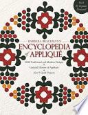 Barbara Brackman's Encyclopedia Of Applique Put 2000 Applique Designs At