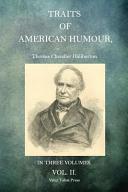 illustration du livre Traits of American Humour Volume 2