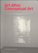 Art After Conceptual Art book