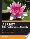 ASP NET Site Performance Secrets