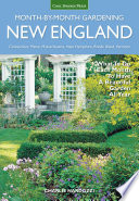New England Month by Month Gardening Book PDF