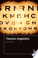 Forensic Linguistics  Second Edition
