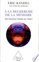 illustration du livre À la recherche de la mémoire
