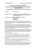 Deschutes and Ochoco National Forests (N.F.) and Crooked River National Grassland, Invasive Plant Treatments, Deschutes, Jefferson, Crook, Wheeler, and Grant Counties