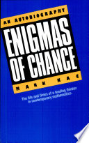 Ebook Enigmas of Chance Epub Mark Kac Apps Read Mobile