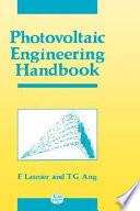 Photovoltaic Engineering Handbook