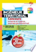Visa   Ing  nieur territorial   Concours interne  3e voie  examen prof   Mon planning en 6 mois