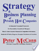 Strategy   Business Planning of Privately Held Companies
