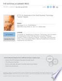 STTR: An Assessment of the Small Business Technology Transfer Program