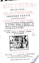 Histoire de la ville de Montpellier