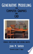 Generative Modeling for Computer Graphics and Cad