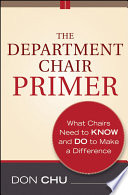 The Department Chair Primer