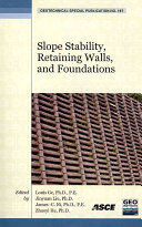 Slope Stability  Retaining Walls  and Foundations