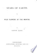 Stars of Earth  or Wild Flowers of the Month Book PDF
