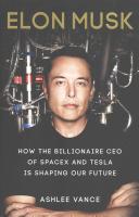. Elon Musk .