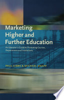 Marketing Higher and Further Education