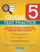 Barron S Core Focus Grade 5 Test Practice For Common Core