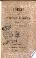 Poesie di Gabriele Rossetti