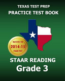 Texas Test Prep Practice Test Book Staar Reading Grade 3