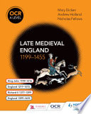 OCR A Level History  Late Medieval England 1199   1455