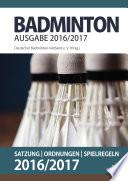 Badminton - Satzung, Ordnungen, Spielregeln 2016